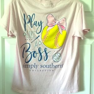 Excellent condition Simply Southern t shirt